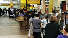 People have been panic buying en masse across the country. (Photo / NZ Herald)