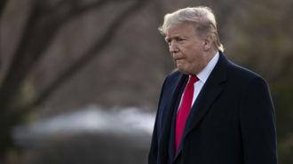 Coronavirus: US deaths double in two days, Trump says quarantine 'not necessary'