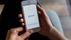 Zoom has become popular during the lockdown. (Photo / Shutterstock)