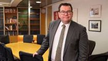 Minister of Finance Grant Robertson speaks to Chris Lynch