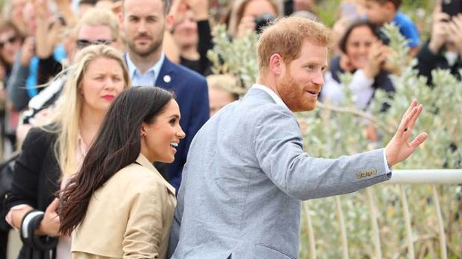 Prince Harry and Meghan have made their final Instagram post. Photo / Getty Images
