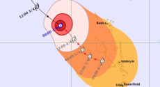 Category 4 cyclone bears down on the Pacific