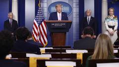 President Donald Trump. (Photo / AP)