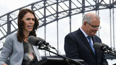 Jacinda Ardern hits back at Australian Government telling Kiwis to go home