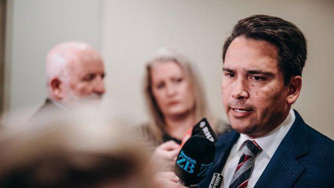 Opposition leader Simon Bridges. Photo / RNZ