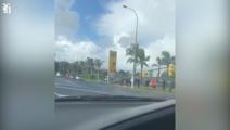 Long queues at supermarkets ahead of Good Friday closures
