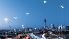Conspiracy theorists have blamed 5G for the Covid-19 pandemic. (Photo / Getty)