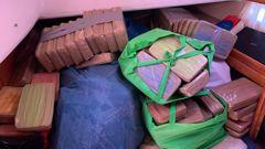 Hundreds of kilograms of methamphetamine were intercepted. (Photo / AFP)