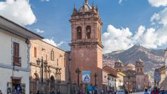 Edward Storey, 49, died in an apartment in Cusco in Peru, some time after texting his family on April 7. The town is normally a hive of tourist activity but is now eerily quiet. Stock photo / 123RF