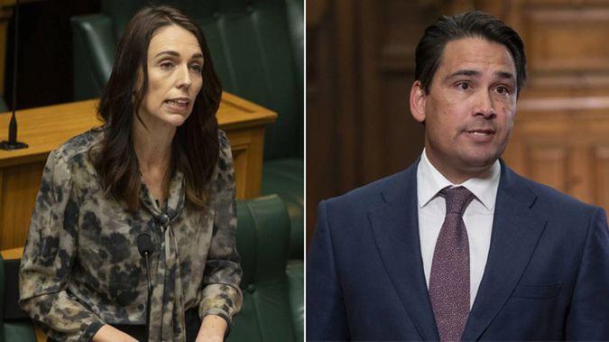 Jacinda Ardern and Smon Bridges. (Photo / NZ Herald)