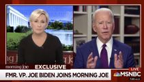 Joe Biden declares sexual assault 'never, never happened'