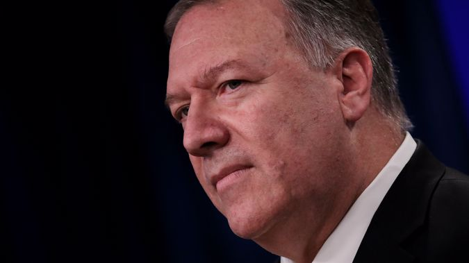 US Secretary of State Mike Pompeo. (Photo / Getty)