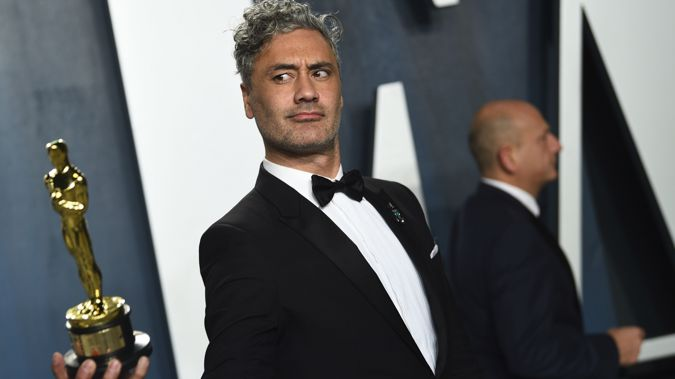 Taika Waititi won his first Oscar this year. (Photo / AP)