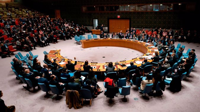 The United States blocked agreement on a UN Security Council resolution that called for a global ceasefire aimed at collectively addressing the coronavirus pandemic ravaging the globe. (Photo / Getty)