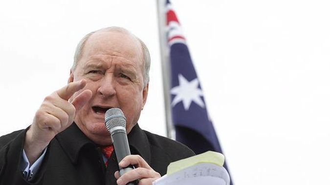 Sydney radio host Alan Jones who made comments attacking NZ Prime Minister Jacinda Ardern has resigned. Photo / Getty Images