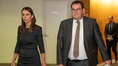 Prime Minister Jacinda Ardern and Finance Minister Grant Robertson. (Photo / NZ Herald)