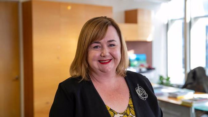 Housing Minister Megan Woods says 8000 more state and transitional homes will be built in the next four to five years. Photo / Mark Mitchell