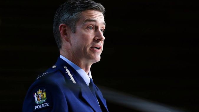 Police Commissioner Andrew Coster. (Photo / NZ Herald)