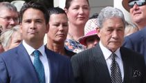 Winston Peters gets snippy with Simon Bridges haircut jab