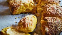 Nici Wickes: Pumpkin & parmesan scones