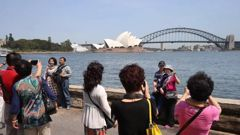 The Chinese government could ban tourists from visiting Australia at the drop of a hat. (Photo / News Corp Australia)