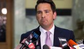 National leader Simon Bridges is remaining positive despite he and his party copping historically bad polling. (Photo / File)