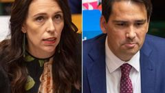 Jacinda Ardern and Simon Bridges. (Photo / NZ Herald)