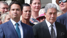 Winston Peters won't rule out a coalition with National