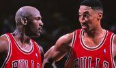Michael Jordan and Scottie Pippen, (Photo / AP)