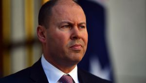 Australian Treasurer Josh Frydenberg. (Photo / Getty)