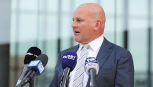 Interim Rugby Australia CEO Rob Clarke. (Photo / Getty)