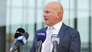 Interim Rugby Australia CEO Rob Clarke. (Photo / Getty)