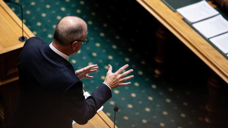 New National Leader Todd Muller squares off against Prime Minister Jacinda Ardern for the first time