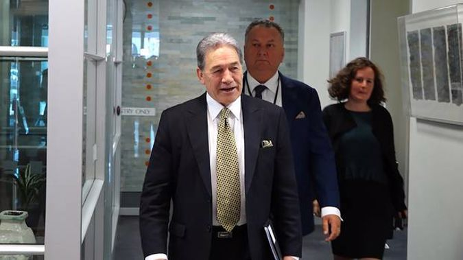 New Zealand First leader Winston Peters. (Photo / Mark Mitchell)