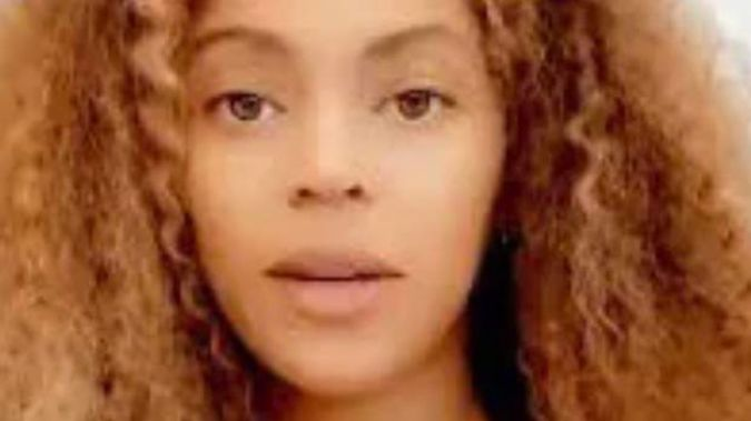 Beyonce has shared an emotional video on Instagram amid the escalating situation in the US. (Photo / Instagram)