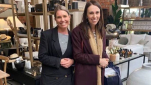 PM Jacinda Ardern and Dr Ashley Bloomfield have come under fire for seemingly breaking social distacning rules. (Photo / Supplied)
