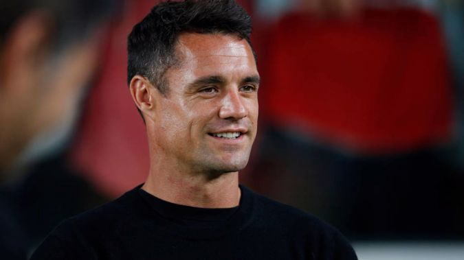 Former All Blacks first-five Dan Carter is believed to have signed with the Blues for Super Rugby Aotearoa. (Photo / Getty)