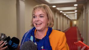 National Party MP Judith Collins said she has been keeping good records since she was first elected to Parliament in 2002. Photo / Mark Mitchell