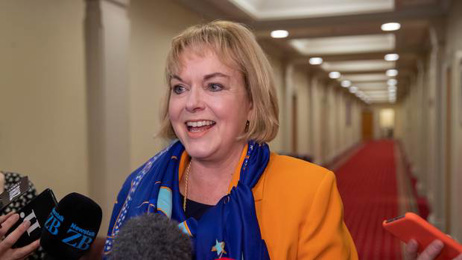 Judith Collins reveals her thoughts on NZ's politicians