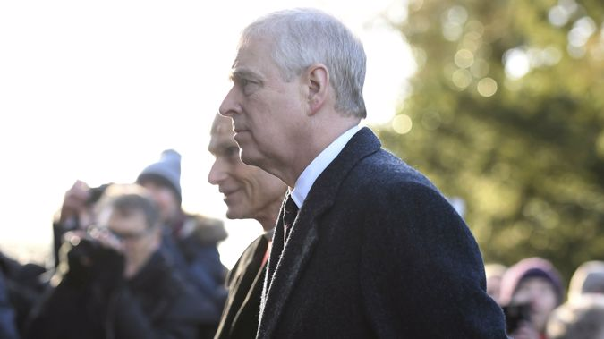 Prince Andrew earlier this year. (Photo / AP)