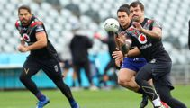 Warriors name rejigged team for clash with North Queensland Cowboys