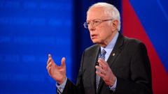 Bernie Sanders. (Photo / CNN)