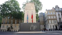 Statues boarded up in London as more protests expected