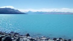 Lake Pukaki in the Mackenzie District plunged to an overnight low of -8C, according to MetService. Photo / File