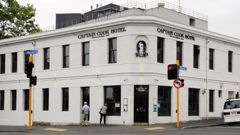 Captain Cook Hotel. Photo / Otago Daily Times