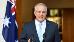 Australian Prime Minister Scott Morrison is set to release a statement today. Photo / File