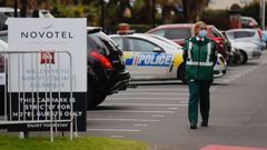 The Novotel where this whole thing started. (Photo / NZ Herald)