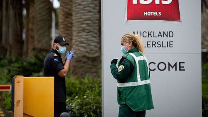 The Novotel in Ellerslie, Auckland is one quarantine facility. (Photo / NZ Herald)