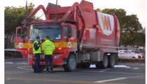 Fatal crash: Pedestrian killed after being hit by rubbish truck in Auckland