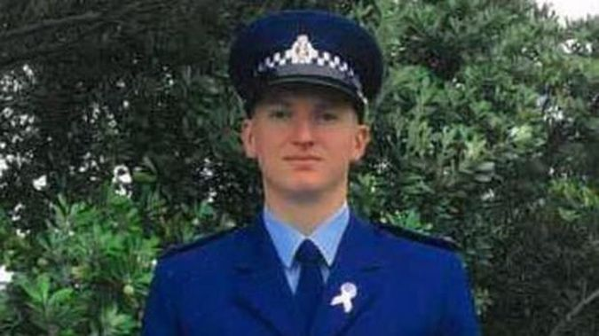 Constable Matthew Hunt has been remembered in Parliament. Photo / Supplied